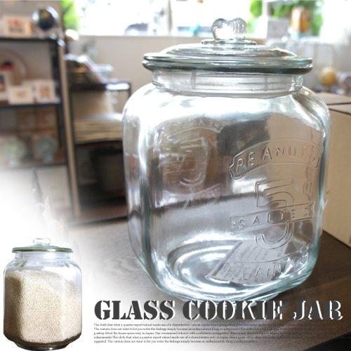 Glass cookie jar ガラス瓶 CH00-H05 DULTON