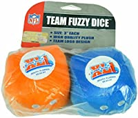 Chicago Bears Fuzzy DiceチームスーパーボウルXLI a500063
