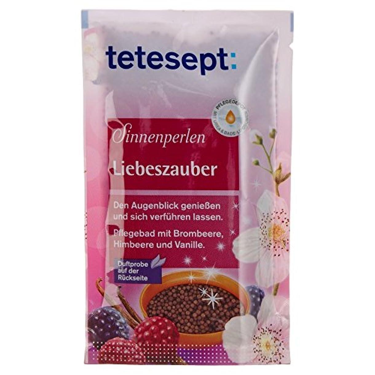 リーガン同封する彼自身Tetesept Sinnenperlen Liebeszauber Brombeere, Himbeere & Vanille 80 g