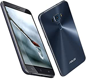 ASUS ZenFone 3 ZE552KL 4GB RAM + 64GB ROM (5.5 inch/4G LTE) (Black ブラック) [並行輸入品]