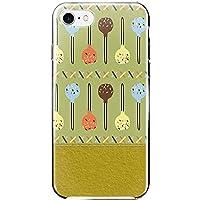 [ZI:L](ジール) iPhone8 ケース ハードケース スマホケース sw003a スイーツ ケーキポップ ペールグリーン スマホカバー 携帯カバー