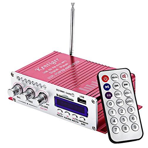 HY-502 パワーアンプ 30W×2チャンネル USB S...