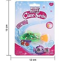 RaiFu お風呂おもちゃ パス おもちゃ バッテリー 駆動 ロボ魚 おもちゃ LED 子供たち バス玩具(8PCS)