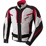 GOLDWIN(ゴールドウイン) バイクジャケット GWSウインドマスターメッシュジャケット プラチナ×レッド XO(3L)サイズGSM12603