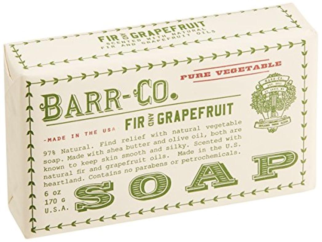 取り替えるエキス普通にBARR-CO.(バーコー) バーソープ FIR&GRAPEFRUIT