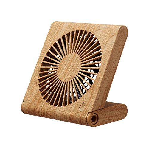 ドウシシャ 卓上扇風機 スリムコンパクトファン 3電源(AC...