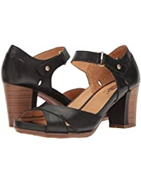 (ピコリノス)Pikolinos レディースファッションサンダル?靴 Java W0K-0972 Black US Women's 6.5-7 23.5cm B - Medium [並行輸入品]