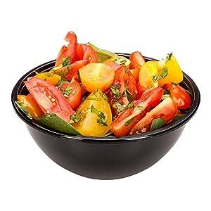 Restaurantware rwp0203b 200CountペットColdサラダボウル Small/7.4 oz ブラック RWP0203B