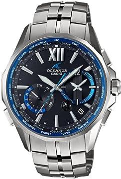 [カシオ]CASIO 腕時計 オシアナス マンタ 電波ソーラー OCW-S3400-1AJF メンズ