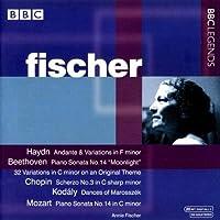 Annie Fischer Plays Haydn, Beethoven, Chopin, Kodaly & Mozart by Annie Fischer (2005-02-22)