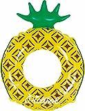 ドウシシャ 浮き輪 変形 パイナップル 80cm