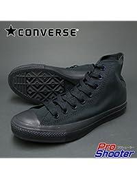 CONVERSE(コンバース) CANVAS ALLSTAR HI(キャンバスオールスター ハイカット) ブラックモノクローム 7.5(26.0cm)