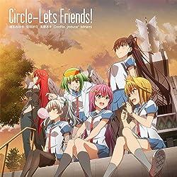 TVアニメ『サークレット・プリンセス』ED主題歌「Circle-Lets Friends!」(特典なし)