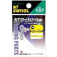 NTスイベル(N.T.SWIVEL) NTパワーヒラメスイベル [固定] ニッケル #4×#5