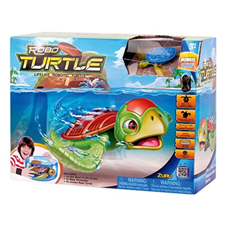 Zuru Robo Turtle Playset Lifelike Robotic Pet