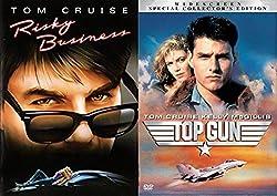 Top Gun Special Edition + Risky Business Tom Cruise DVD Set double feature bundle