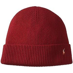 (ポロ ラルフ ローレン)POLO RALPH LAUREN(ポロ ラルフ ローレン) ワンポイント ニット帽 PC0057 819 FIREGLOW HTHR F
