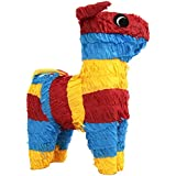 Bull Shaped 16 1/2in x 12 1/2in Pinata by Party America