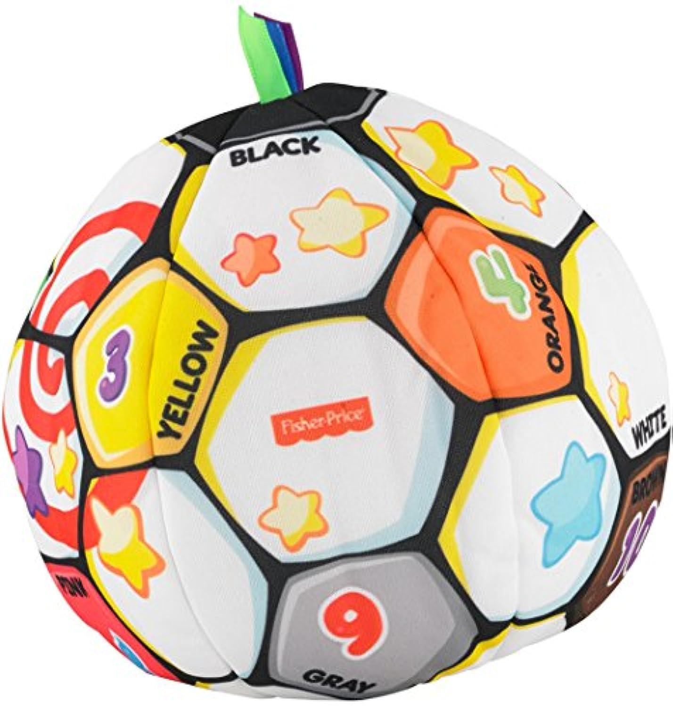 フィッシャープライス 歌っておしゃべり! サッカーボール (BHJ28)