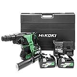 HiKOKI(ハイコーキ)旧日立工機 36Vコードレスロータリハンマドリル DH36DPA(2XP) 蓄電池合計3個セット