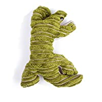 OWNFSKNL きしむ豪華なぬいぐるみ丈夫で低い犬用のぬいぐるみ動物のおもちゃ (Design : Lizard)