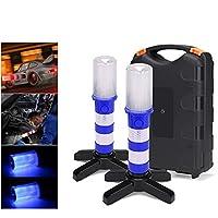 作業灯検査ランプ、屋外緊急警報灯、車の照明検査懐中電灯、キャンプ、緊急用,C