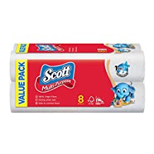 Scott Value Multi Purpose Towels, 55ct (Pack of 8)