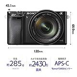 ソニー SONY ミラーレス一眼 α6000 パワーズームレンズキット E PZ 16-50mm F3.5-5.6 OSS ブラック ILCE-6000L B