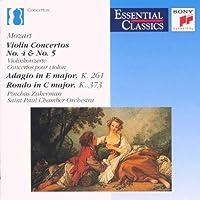 Con Vn 4/5/Adagio/Rondo