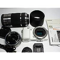 ソニー SONY ミラーレス一眼カメラ α NEX-5Rダブルズームレンズキット ホワイト NEX-5RY/W