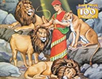 Daniel in the Lion's Den 100pc. Bible Puzzle by Golden Books