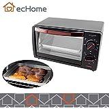 iNNOWARE Small Mini 10L Electric Oven Timer Portable Kitchen Grill Bake Roast