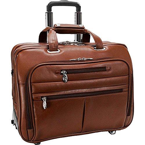 (マックレーンユーエスエー) McKlein USA メンズ バッグ キャリーバッグ R Series Ohare Leather Wheeled Laptop Case 並行輸入品