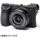 DISCOVERED イージーカバー ソニーα6500 用 カメラカバー ブラック 液晶保護フィルム付き