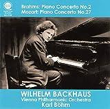 ブラームス : ピアノ協奏曲第2番   モーツァルト : ピアノ協奏曲第27番 / バックハウス   ベーム   ウィーン・フィル (Brahms: Piano Concerto No.2 & Mozart: Piano Concerto No.27 / Backhaus, Böhm & VPO)[CD] [日本語帯・解説付]