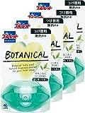 【まとめ買い】ブルーレット ボタニカル トイレタンク芳香洗浄剤 詰替え用 リーフ 70ml×4個
