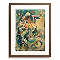 ワシリー・カンディンスキー Wassily Kandinsky (Vassily Kandinsky) 「Moskau II (Roter Platz), 1916.」 額装アート作品