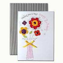 バースデーカード 「フルーティー」 03 花瓶