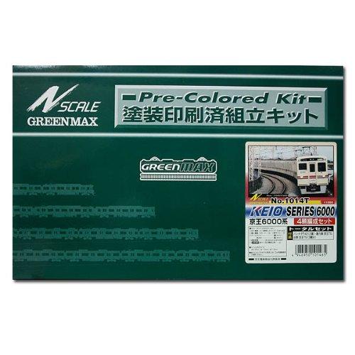 【GREN MAX・グリーンマックス】鉄道模型Nゲージ1014T 京王6000系 4輛トータルセット