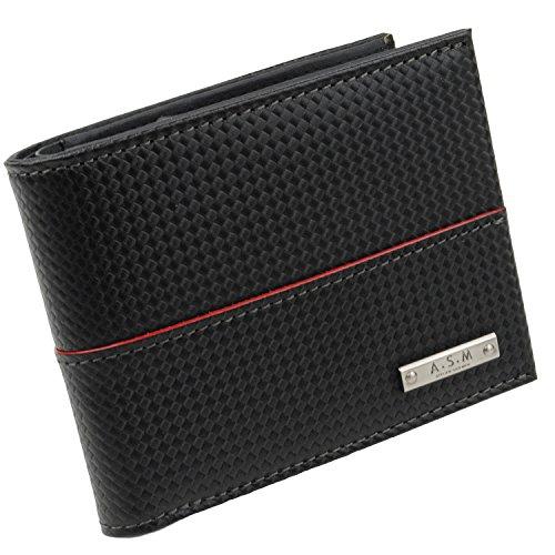 [アトリエサブメン] ATELIER SAB MEN 2つ折り財布 /チェーン/ 153603 (クロ)