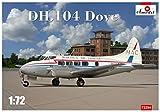 Aモデル 1/72 デハビランド DH.104 ダブ 双発旅客機 プラモデル AM72294