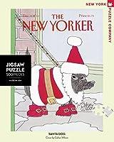 ニューヨークパズル会社–New Yorkerサンタ犬–500ピースジグソーパズルbyニューヨークパズル会社