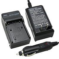 バッテリー充電器for JVC gz-hm550bu、gz-hm650bu、gz-hm670bu HD Everioフラッシュメモリビデオカメラ