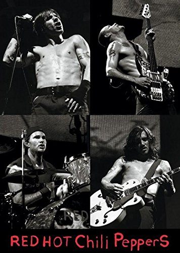 Red Hot Chili Peppers(Live)ポスター/レッド・ホット・チリ・ペッパーズ