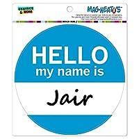 ジェイルこんにちは、私の名前は - サークル MAG-格好いい'S(TM)カー/冷蔵庫マグネット