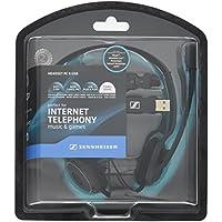 ゼンハイザー PCヘッドセット ヘッドバンド型両耳式/ノイズキャンセルマイク PC 8 USB【国内…