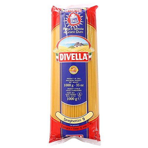 ディヴェッラ No.9 スパゲッティーニ ( 1.55mm ) 1kg ディベラ ロングパスタ #9 [正規輸入品]