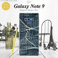 スマホケース カバー ピクチャ 青 [対応機種:Galaxy Note9 SC-01L SCV40 ]