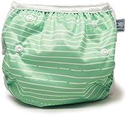 Beau & Belle Littles Nageuret Ultra Premium Reusable Swim Nappy, Adjustable & Stylish Fits Nappy Sizes