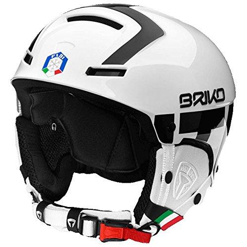 [해외] BRIKO(브리고)FAITO FISI 파이트 스노우 스키 헬멧 2001JX0- (SIZE:ML|COLOR:F10화이트×블랙)